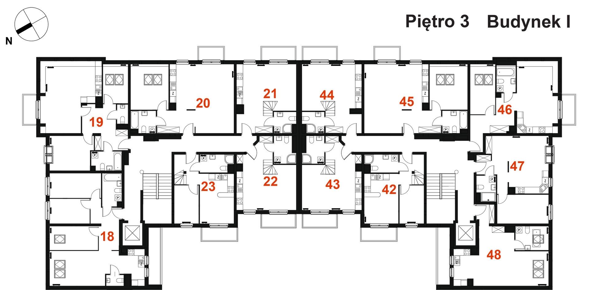 Sosnowy zakątek - Trzecie piętro